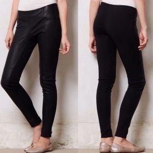 Anthropologie x La Fee Verte faux leather legging